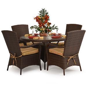 Palm Springs Rattan Kokomo 5 Pc. Dining Set