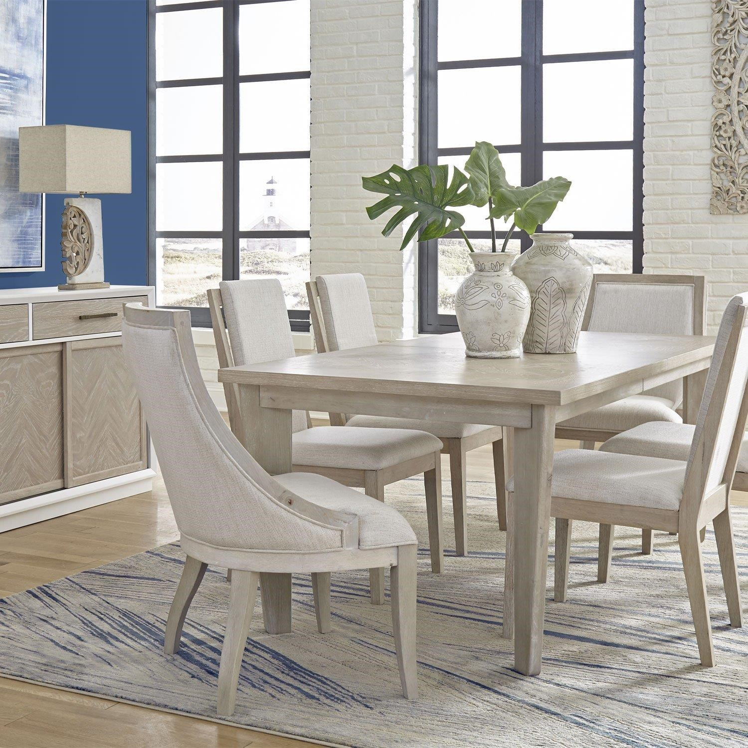 Boca Grande Dining Table, Floating Chair, Sling Chair by Panama Jack by Palmetto Home at Johnny Janosik