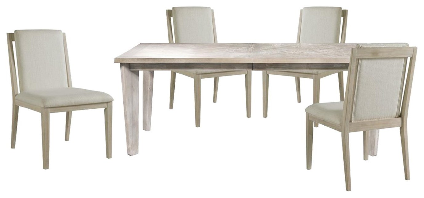 Boca Grande DINING TABLE And 4 SIDE CHAIRS by Panama Jack by Palmetto Home at Johnny Janosik