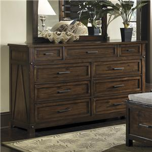Panama Jack by Palmetto Home Eco Jack 9-Drawer Dresser