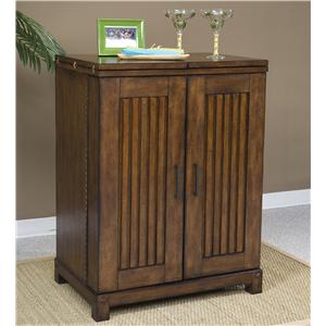 Panama Jack by Palmetto Home Eco Jack Steamer Trunk Bar