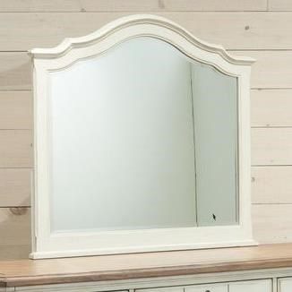 Millbrook Landscape Mirror by Panama Jack by Palmetto Home at Baer's Furniture