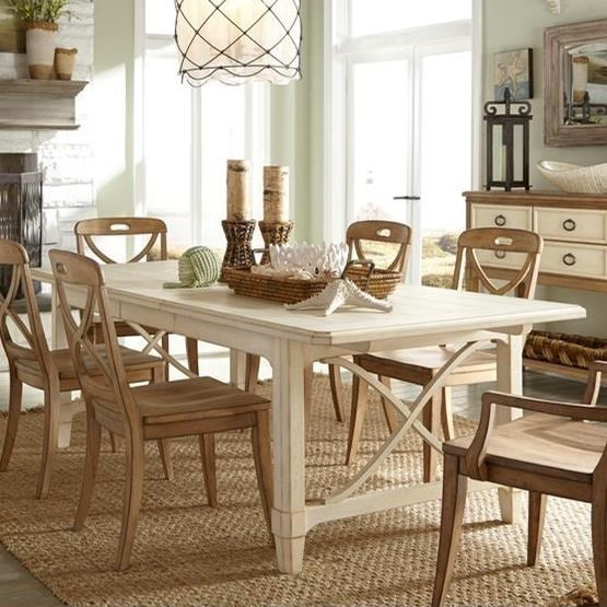 Millbrook Rectangular Dining Table by Panama Jack by Palmetto Home at Baer's Furniture