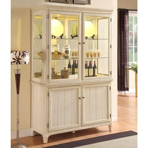 Curio Cabinet with Built-in Lighting
