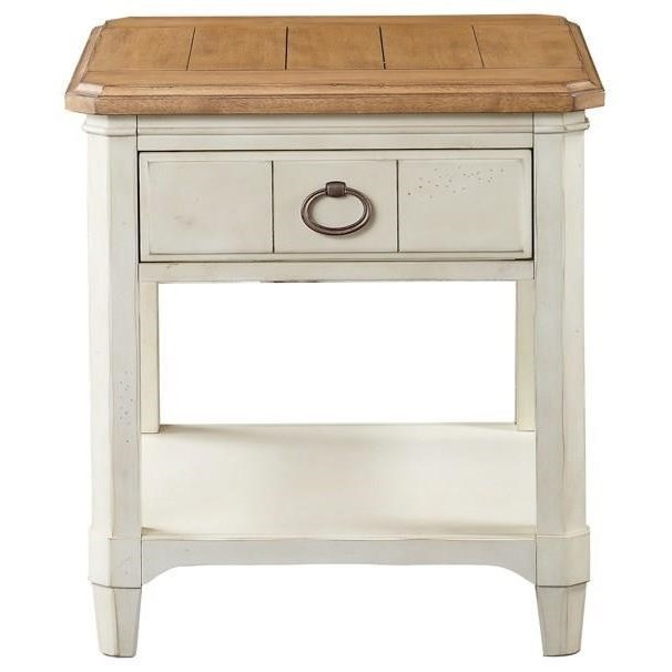 Millbrook Rectangular End Table by Panama Jack by Palmetto Home at Baer's Furniture