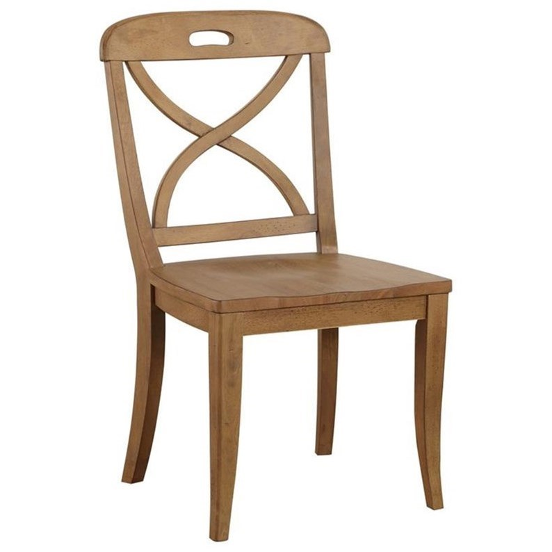Millbrook X Back Dining Side Chair by Panama Jack by Palmetto Home at Baer's Furniture