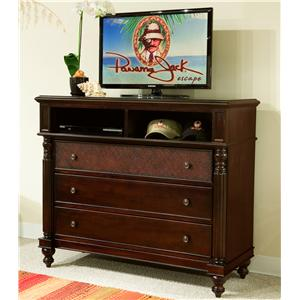 Panama Jack by Palmetto Home Old Havana Media Chest