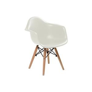 Children's Arm Chair in White