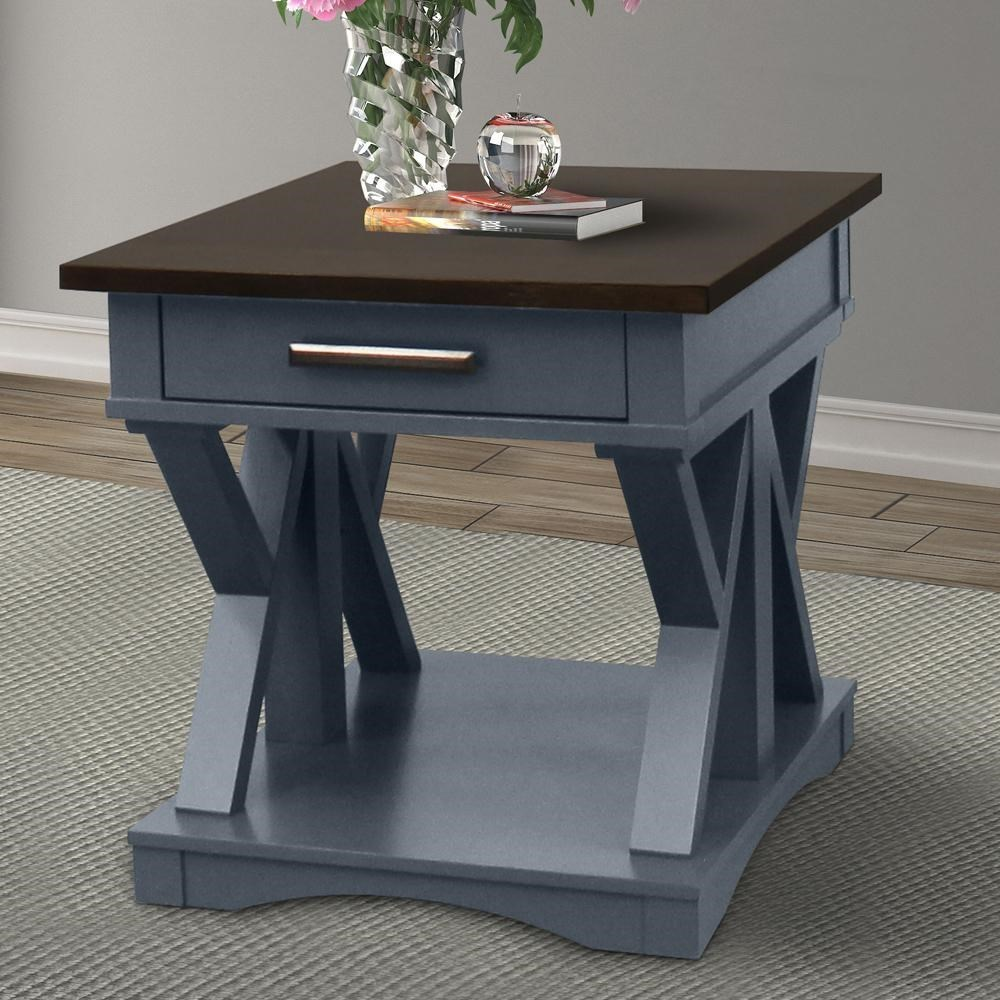 Americana Modern End Table by Parker House at Furniture and ApplianceMart