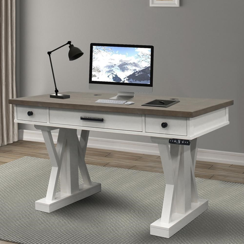 Americana Modern Power Lift Desk by Parker House at Furniture and ApplianceMart