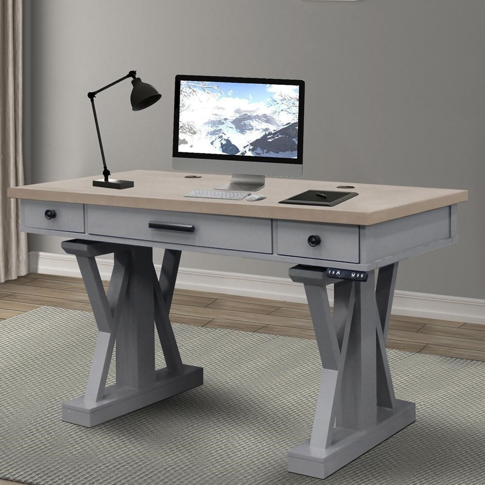 Americana Modern Power Lift Desk by Parker House at Simply Home by Lindy's