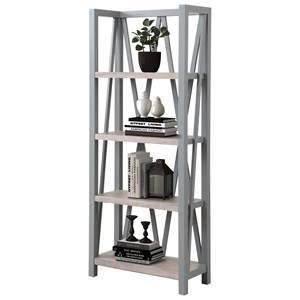 4-Tier Etagere Bookcase