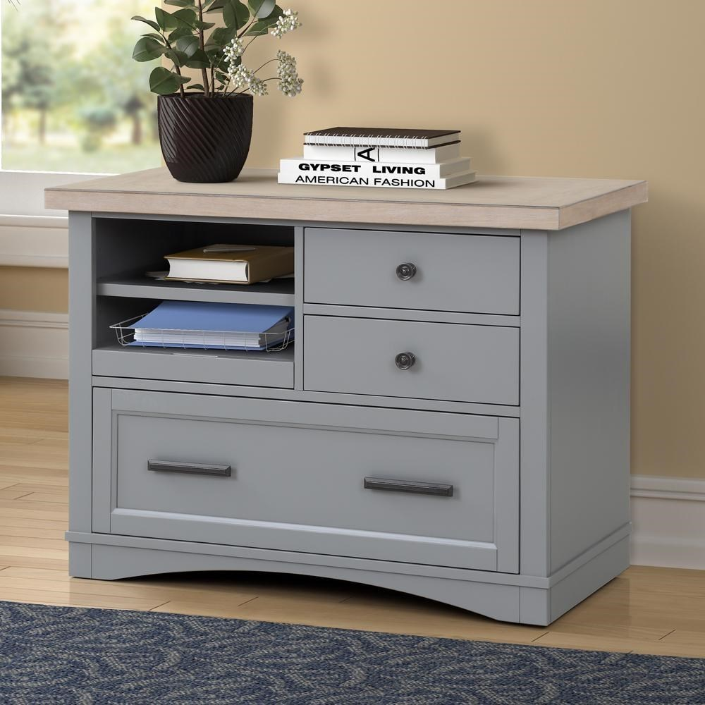 Americana Modern Functional File w/ Power Center by Parker House at Darvin Furniture