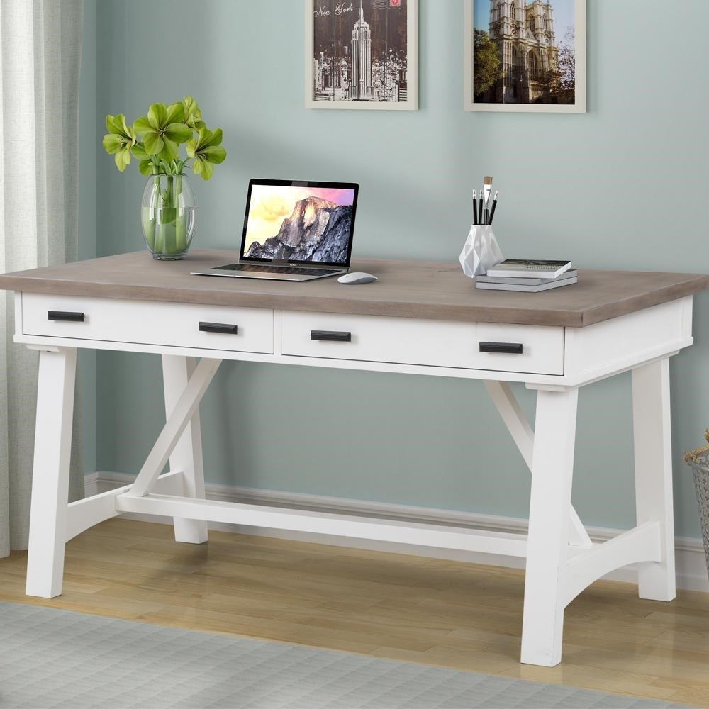 """Americana Modern 60"""" Writing Desk by Parker House at Darvin Furniture"""