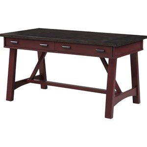 "Transitional 60"" Writing Desk"