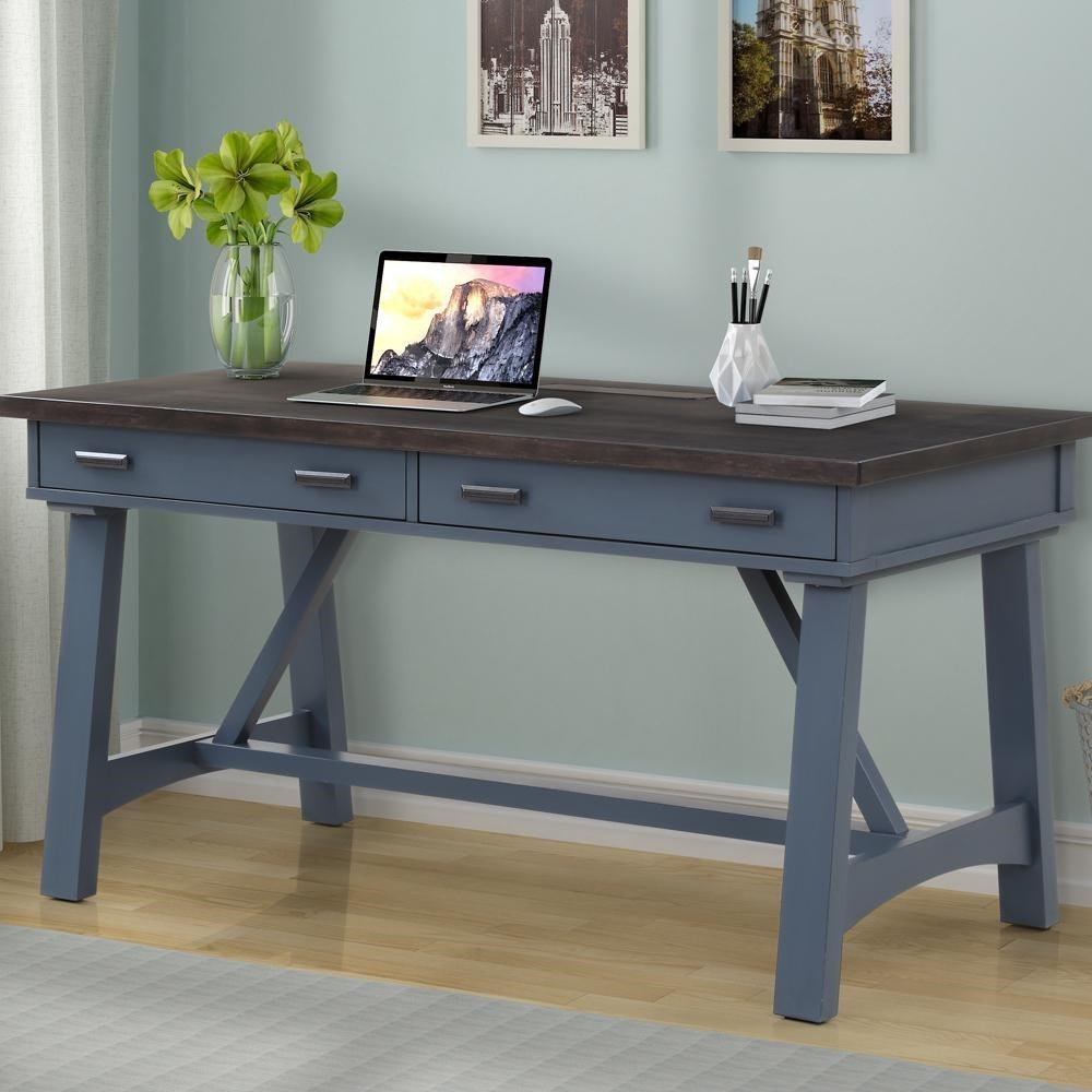 "Americana Modern 60"" Writing Desk by Parker House at Darvin Furniture"