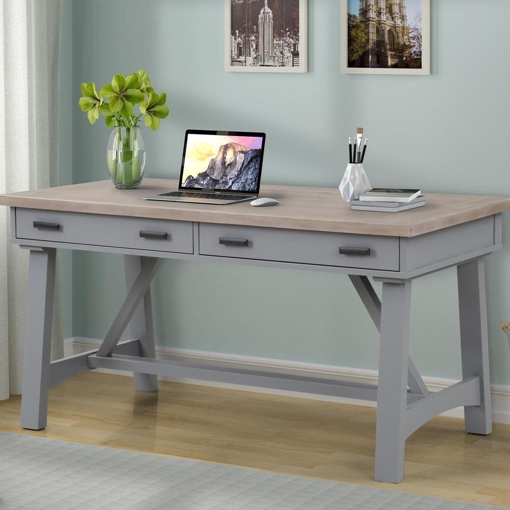 "Americana Modern 60"" Writing Desk by Parker House at Westrich Furniture & Appliances"