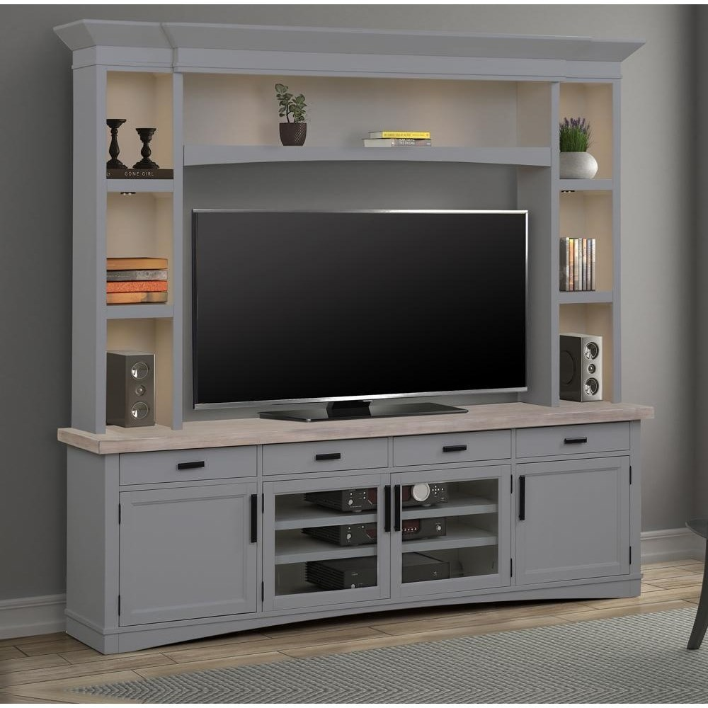 Americana Modern Entertainment Wall Unit by Parker House at Zak's Home
