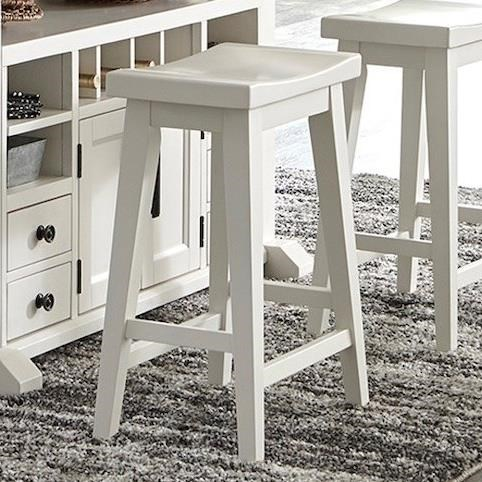 Americana Modern Counter Stool 26 in. by Parker House at Furniture and ApplianceMart