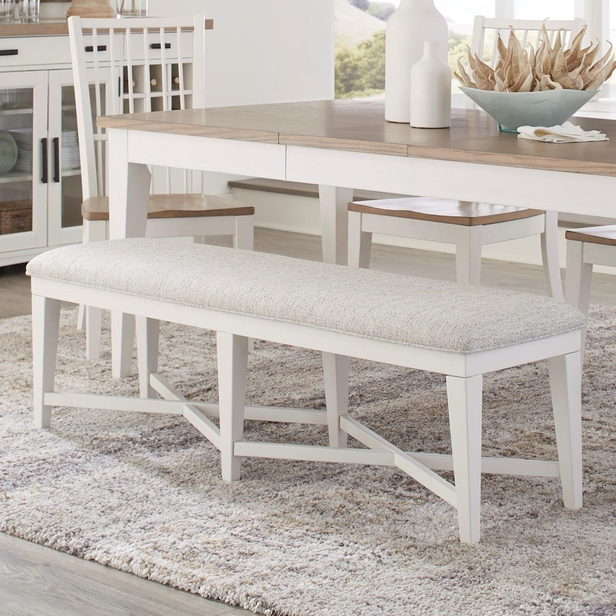 Americana Modern Bench Upholstered by Parker House at Simply Home by Lindy's
