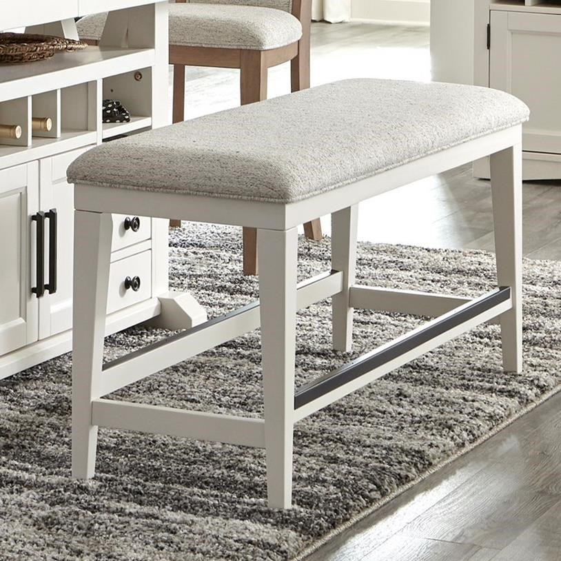 Americana Modern Bench Counter Upholstered by Parker House at Simply Home by Lindy's