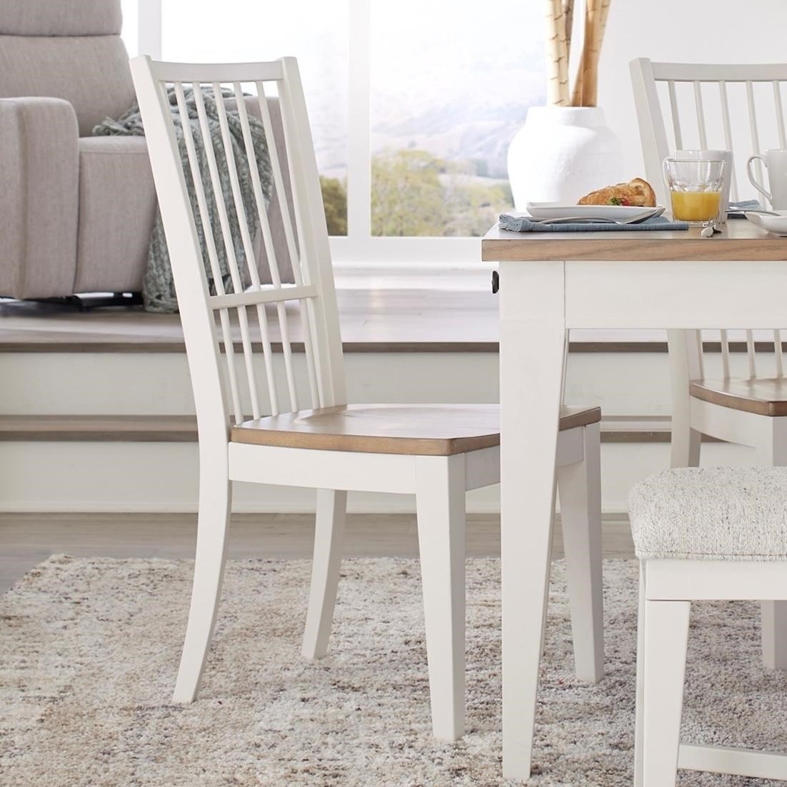 Americana Modern Dining Chair Spindle Back by Parker House at Furniture and ApplianceMart