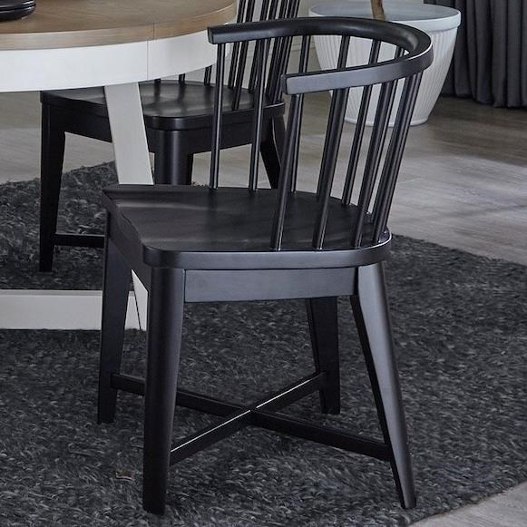 Americana Modern Dining Chair Barrel by Parker House at Zak's Home