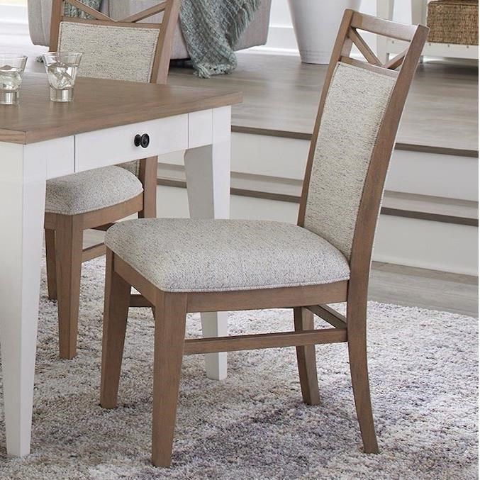 Americana Modern Dining Chair Upholstered by Parker House at Simply Home by Lindy's