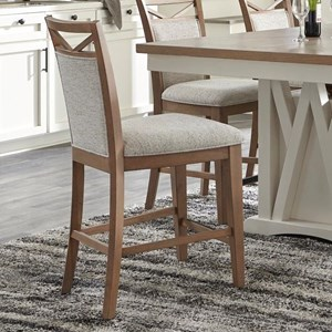 Counter Chair Upholstered