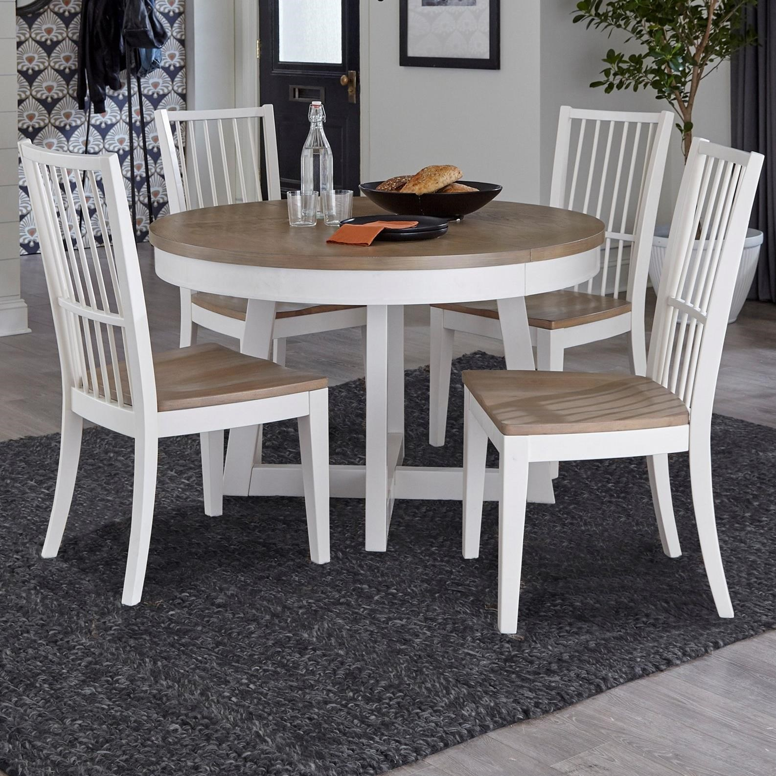 Americana Modern 5-Piece Dining Set by Parker House at Furniture and ApplianceMart
