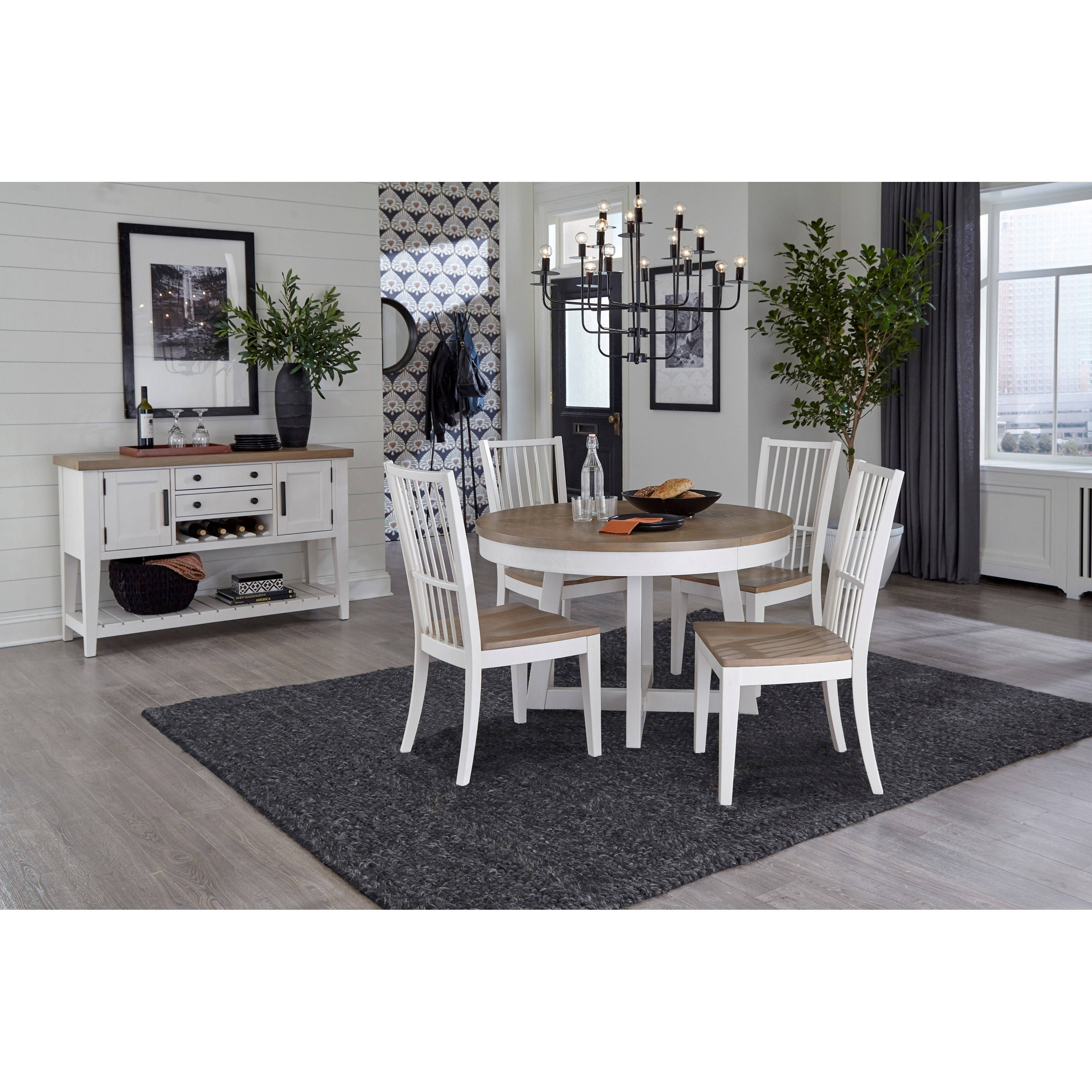 Americana Modern Casual Dining Room Group by Parker House at Zak's Home