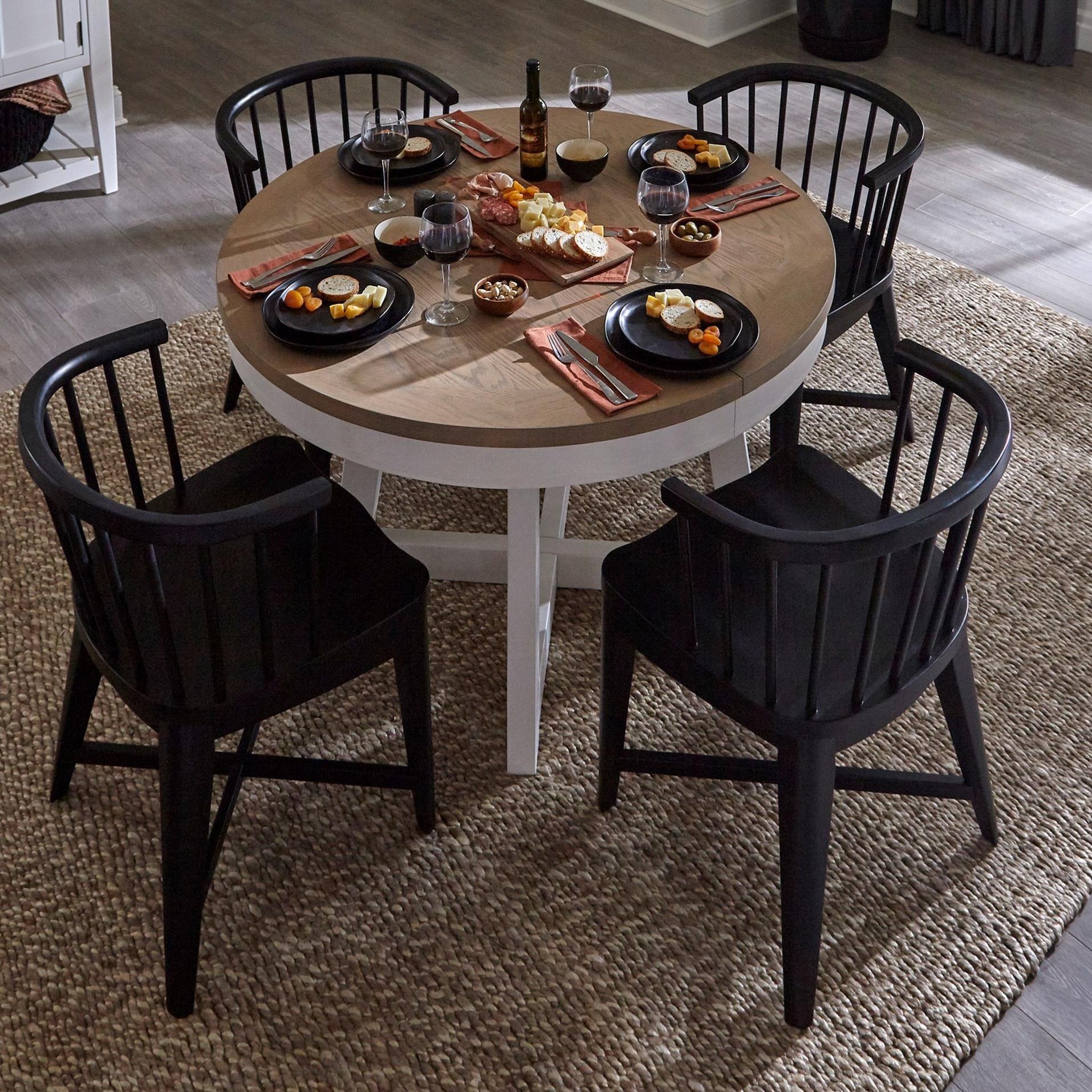 Americana Modern 5-Piece Dining Set by Parker House at Zak's Home