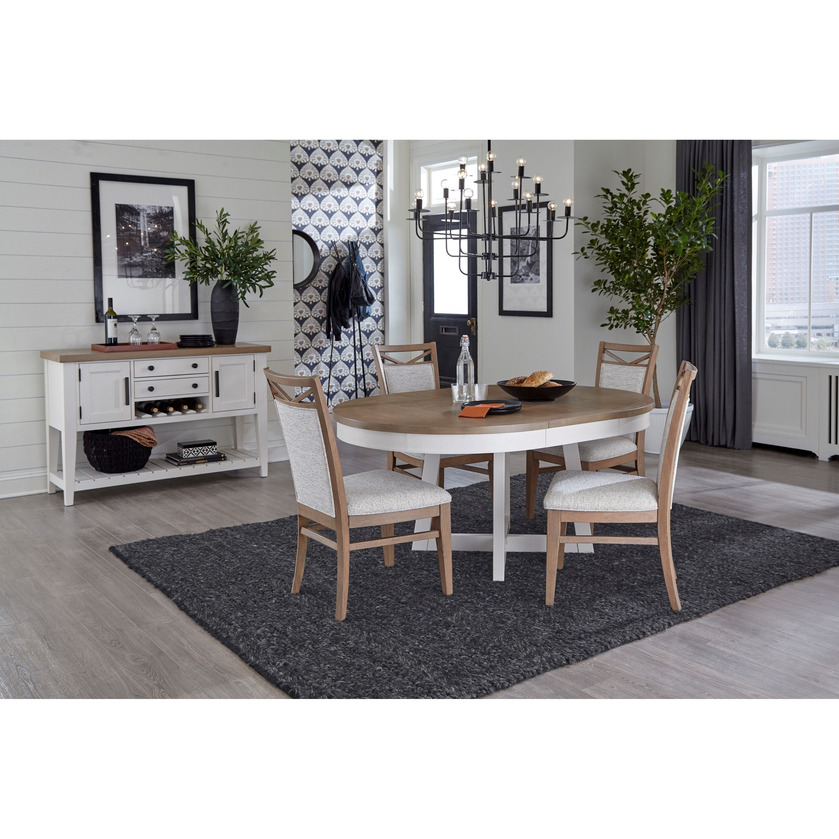 Americana Modern Casual Dining Room Group by Parker House at Furniture and ApplianceMart