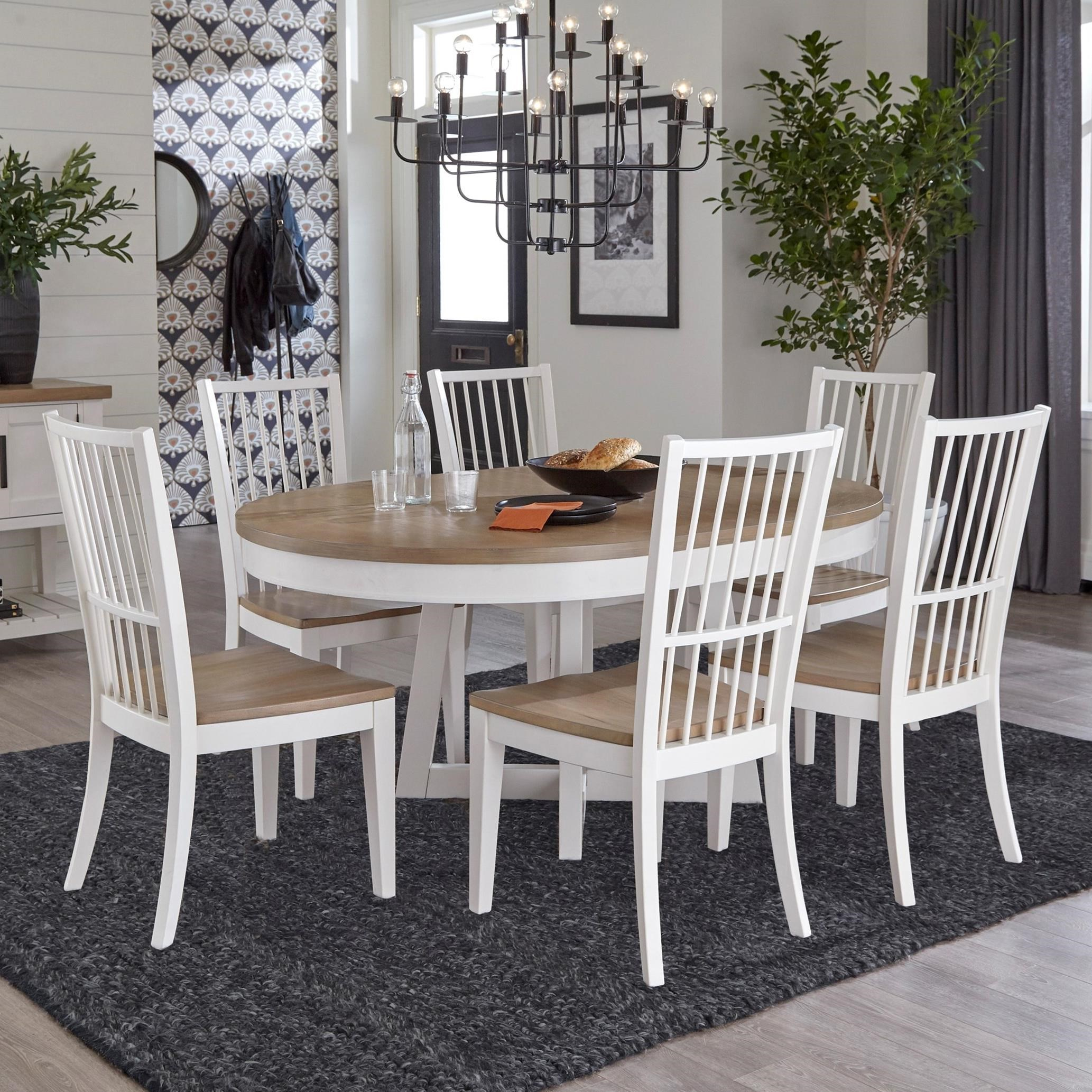 Americana Modern 7-Piece Dining Set by Parker House at Furniture and ApplianceMart