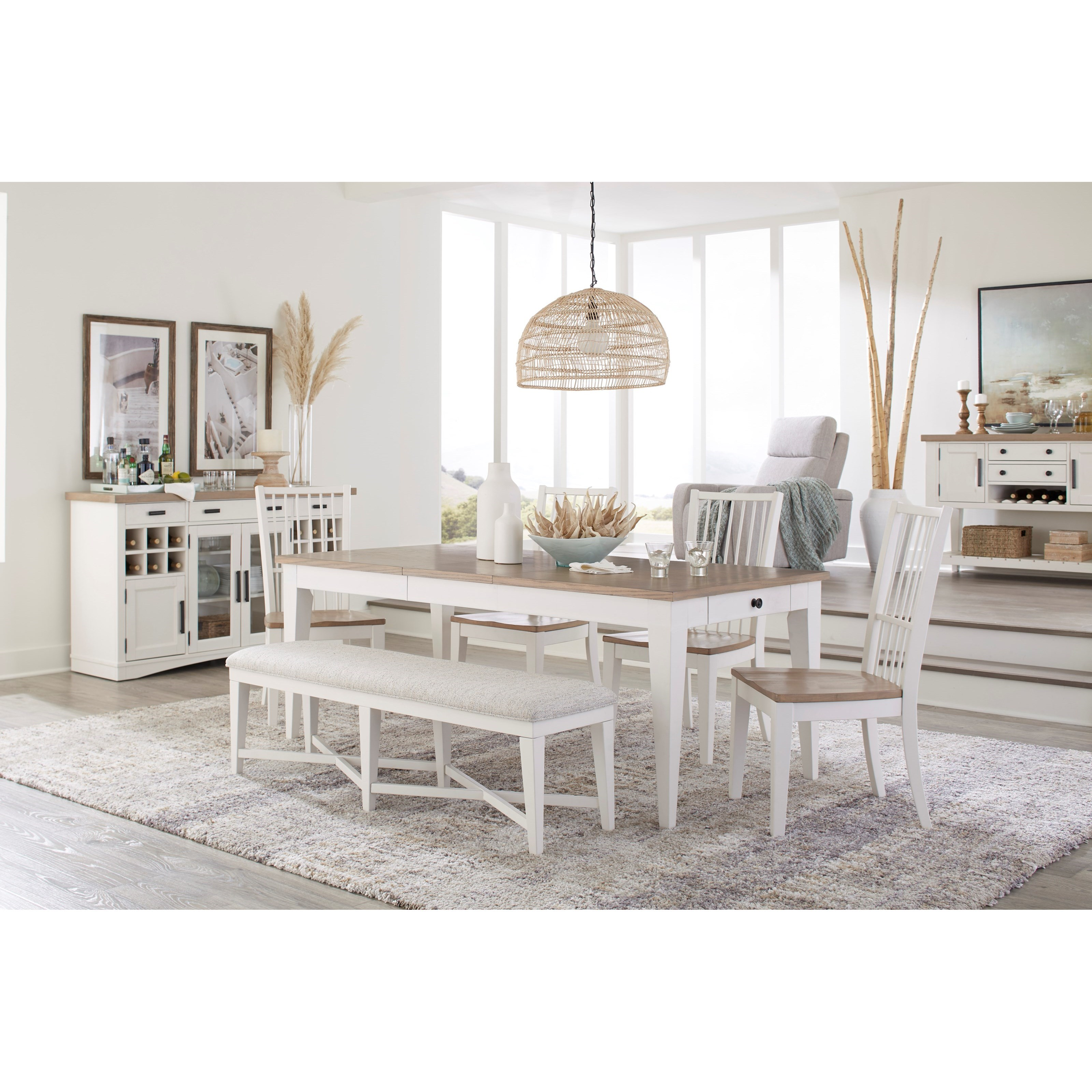Americana Modern Formal Dining Room Group by Parker House at Jacksonville Furniture Mart