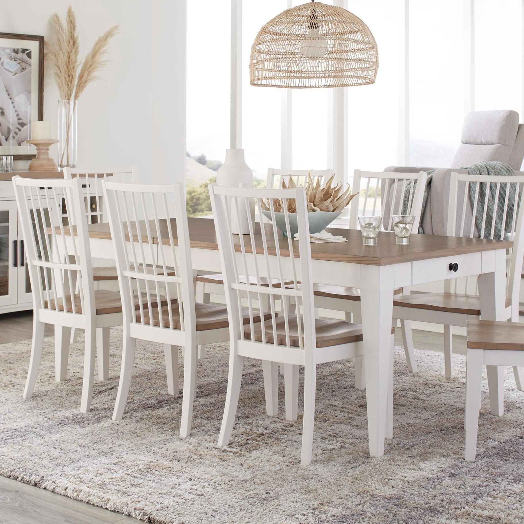 Americana Modern Dining Table by Parker House at Furniture and ApplianceMart