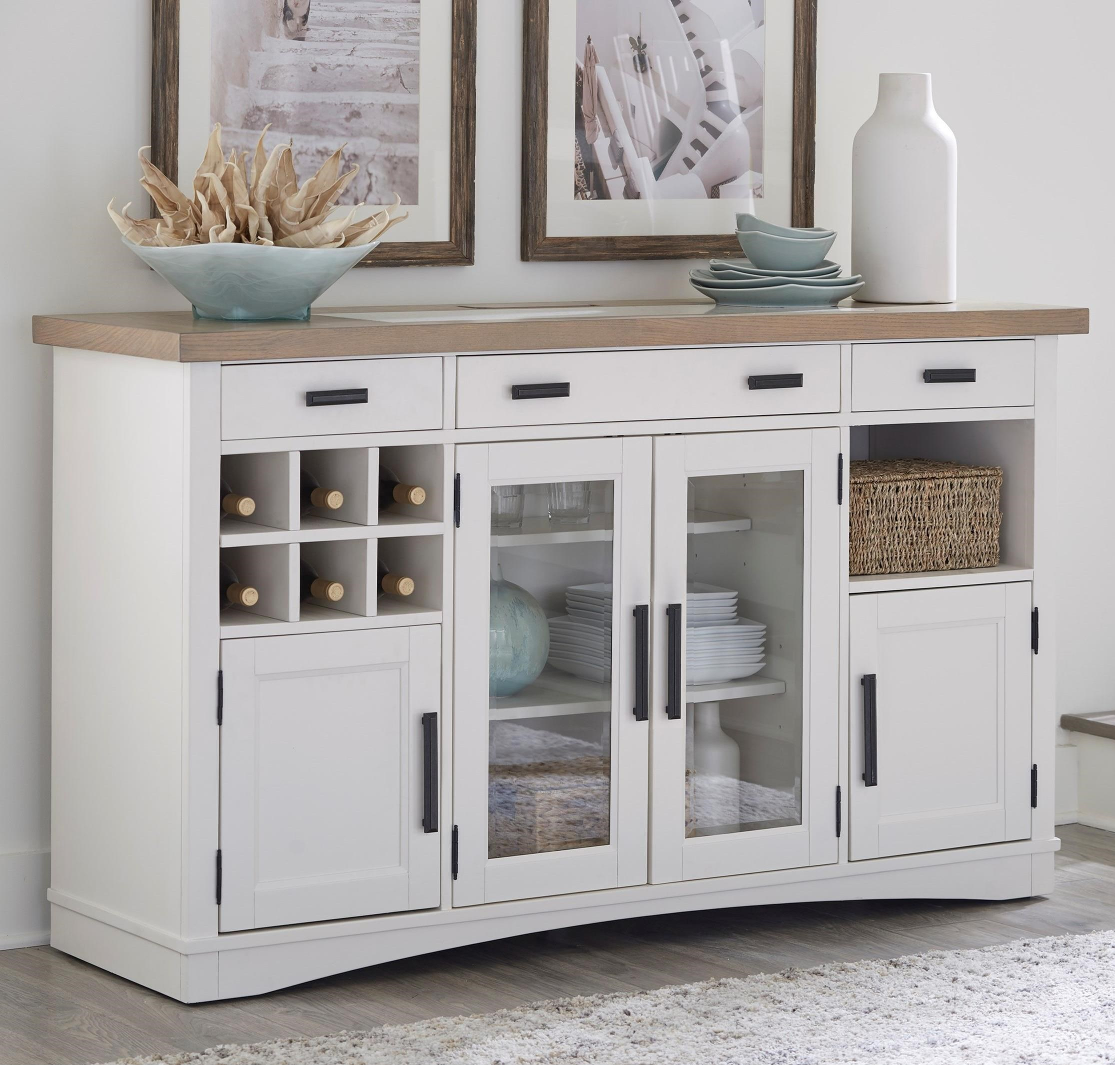Americana Modern Buffet Server by Parker House at Simply Home by Lindy's