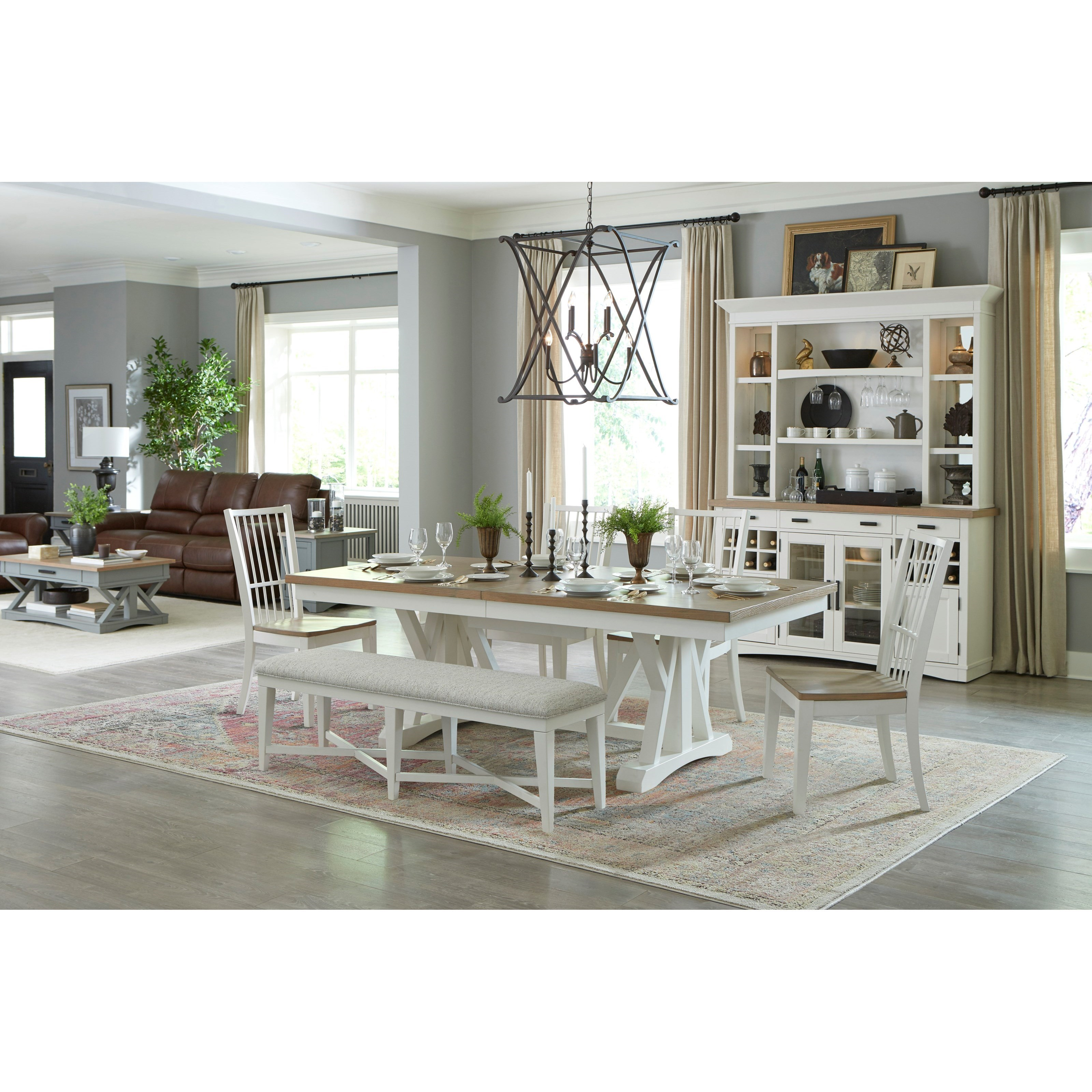 Americana Modern Formal Dining Room Group by Parker House at Furniture and ApplianceMart