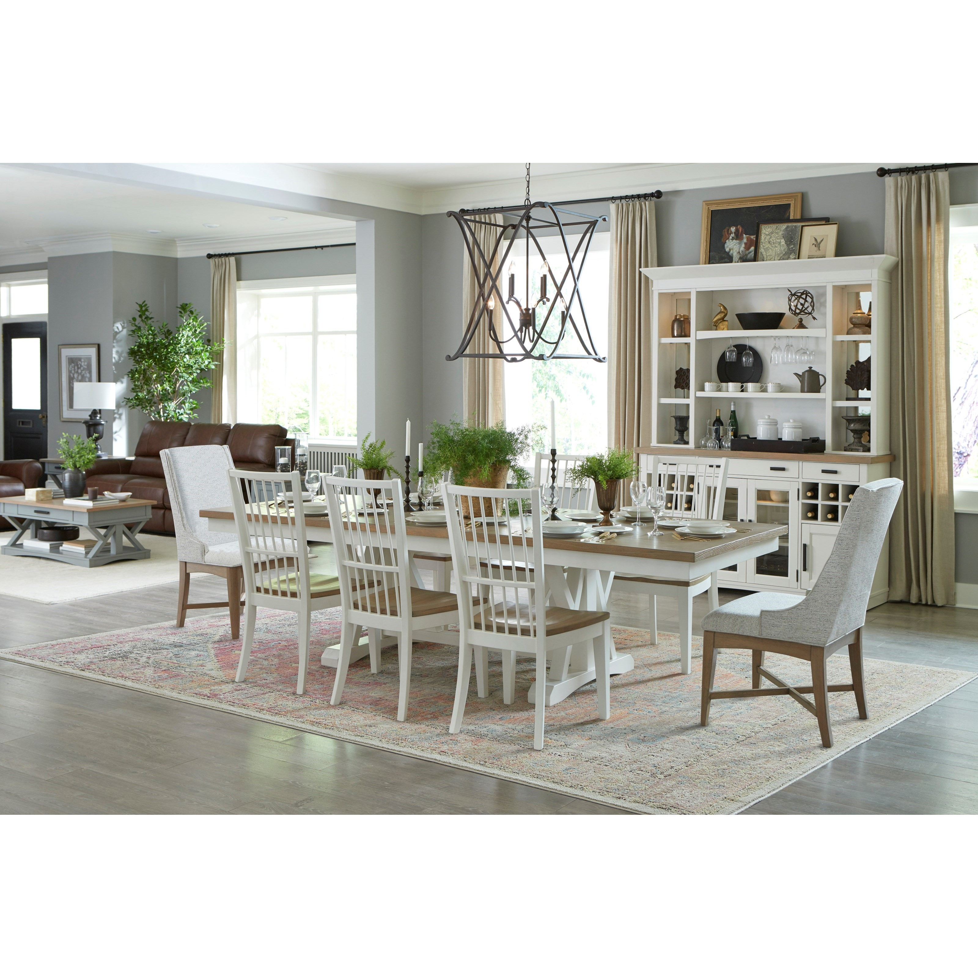Americana Modern Formal Dining Room Group by Parker House at Zak's Home