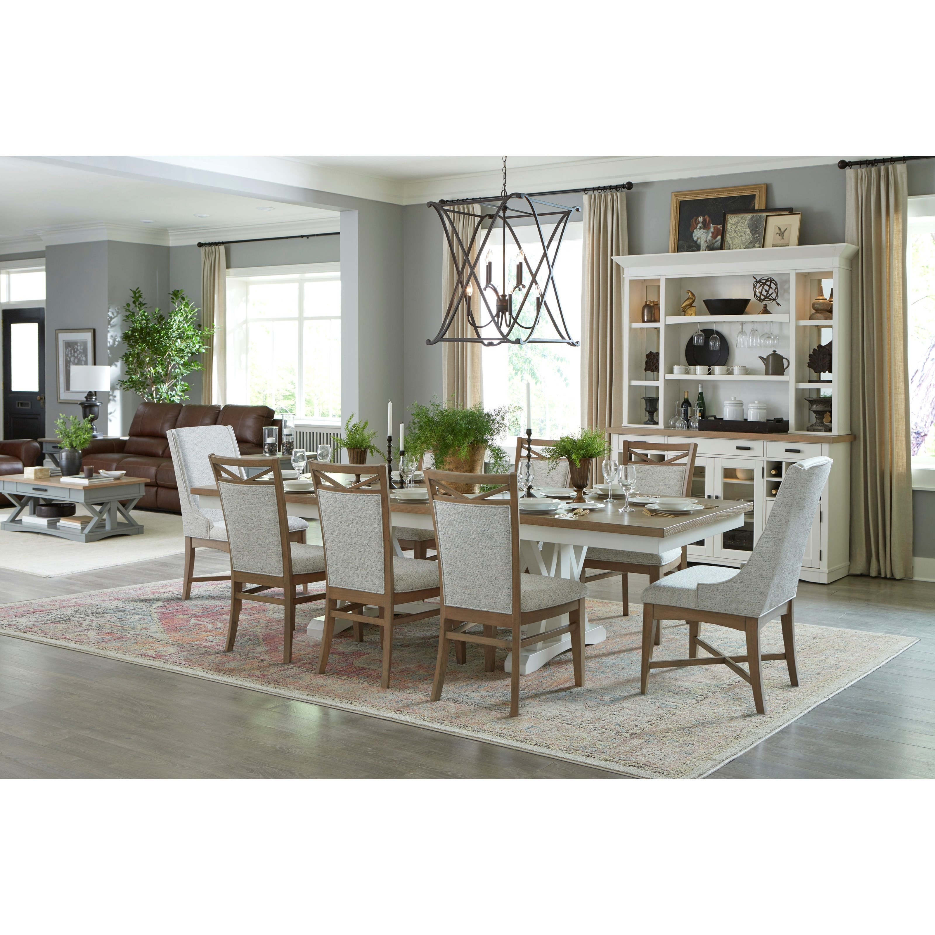 Americana Modern Formal Dining Room Group by Parker House at Westrich Furniture & Appliances