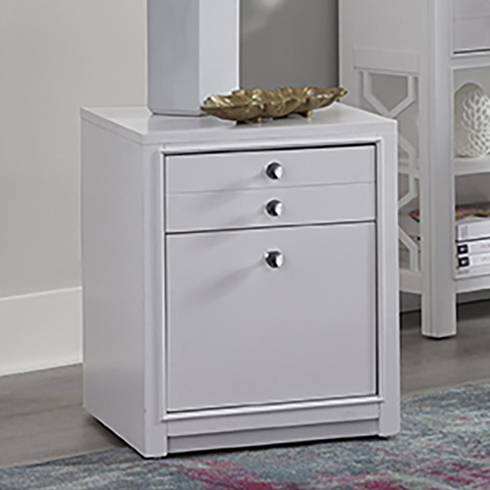 Ardent Rolling File Cabinet by Parker House at Wilson's Furniture