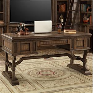 Traditional Writing Desk with 3 Drawers