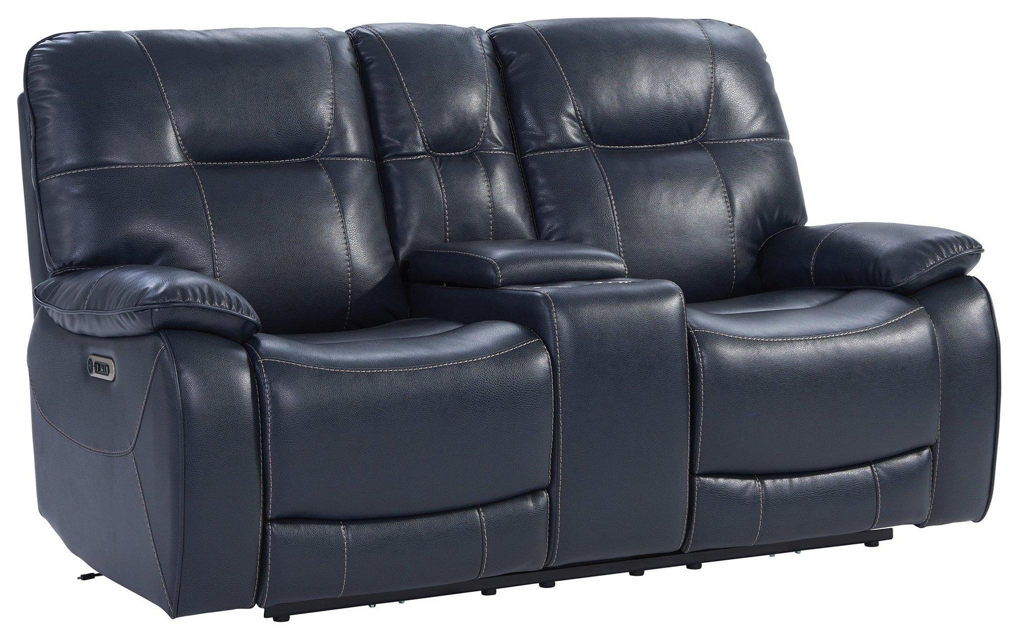Axel Power Recling Console Loveseat by Parker House at Johnny Janosik