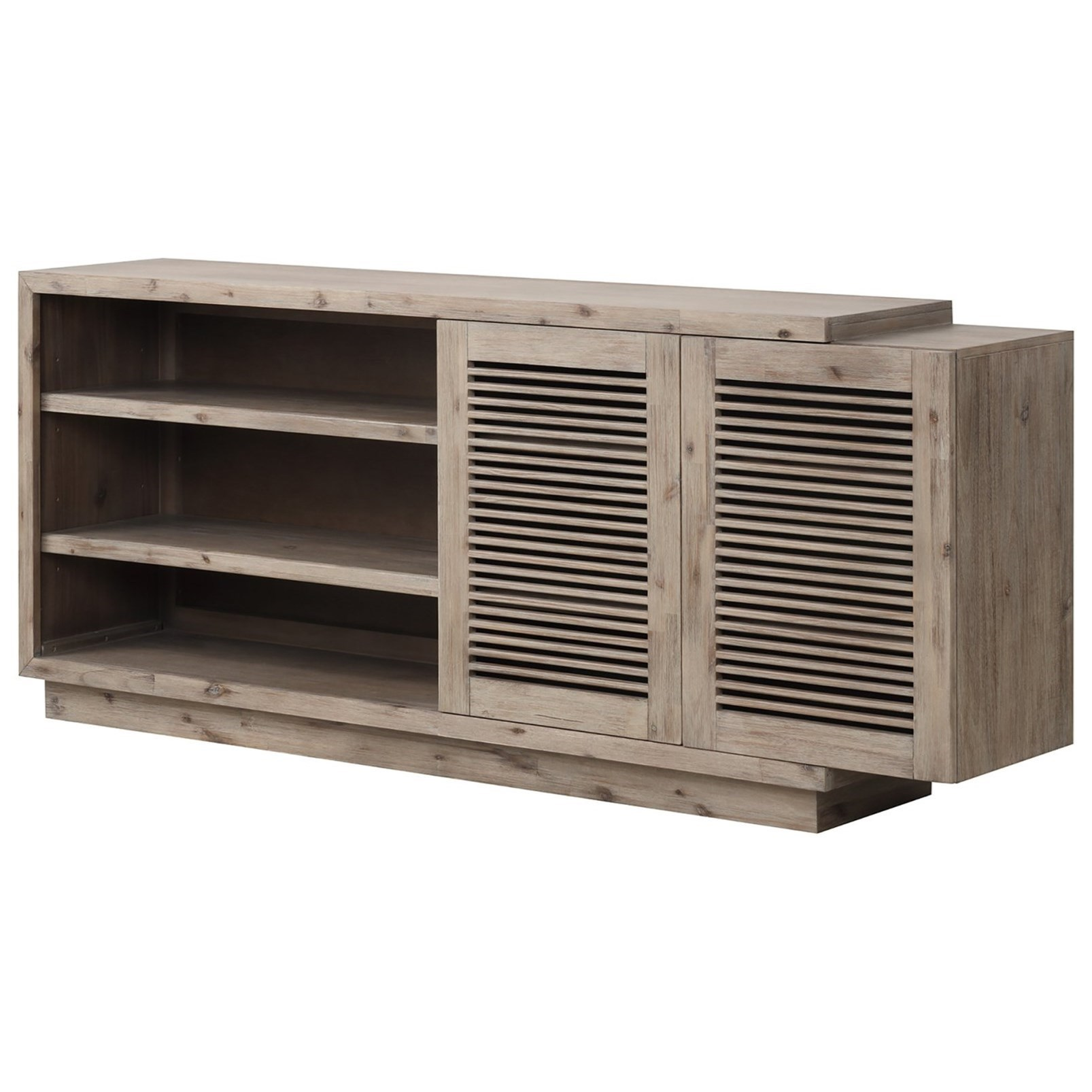 Becket TV Console by Parker House at Zak's Home