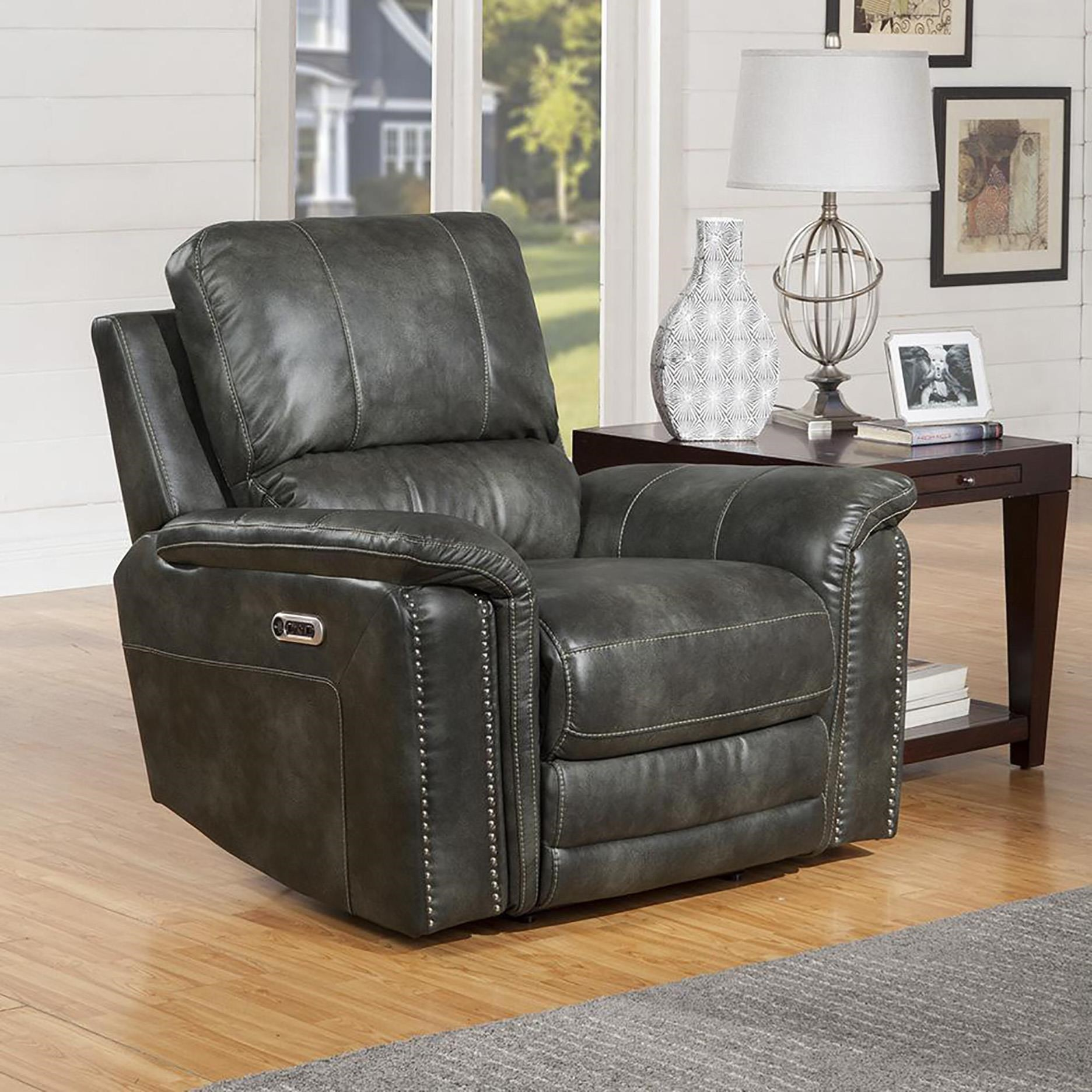 Belize Recliner Power With Usb And Power Headrest by Parker House at Johnny Janosik