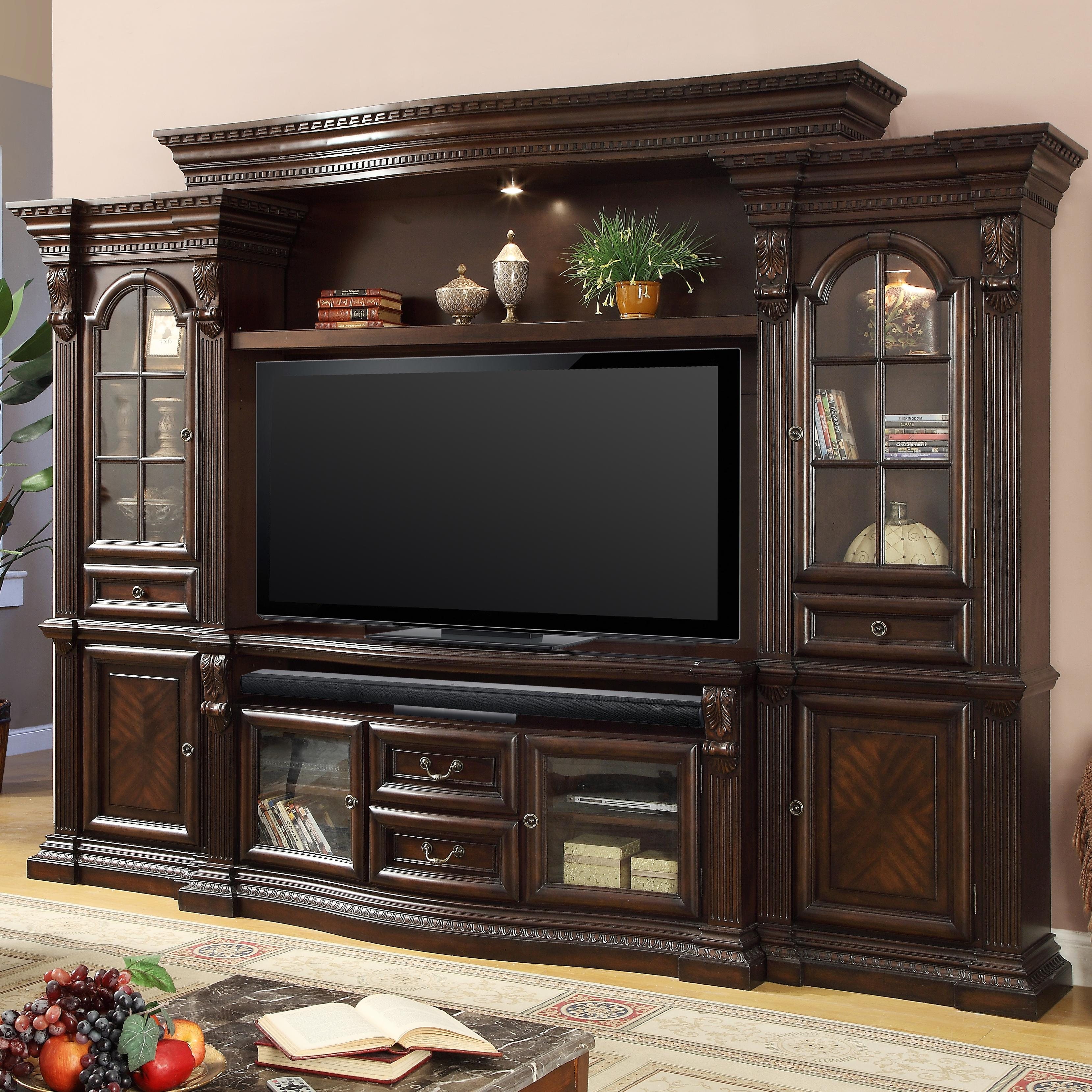 Bella Collection Entertainment Center by Parker House at Zak's Home