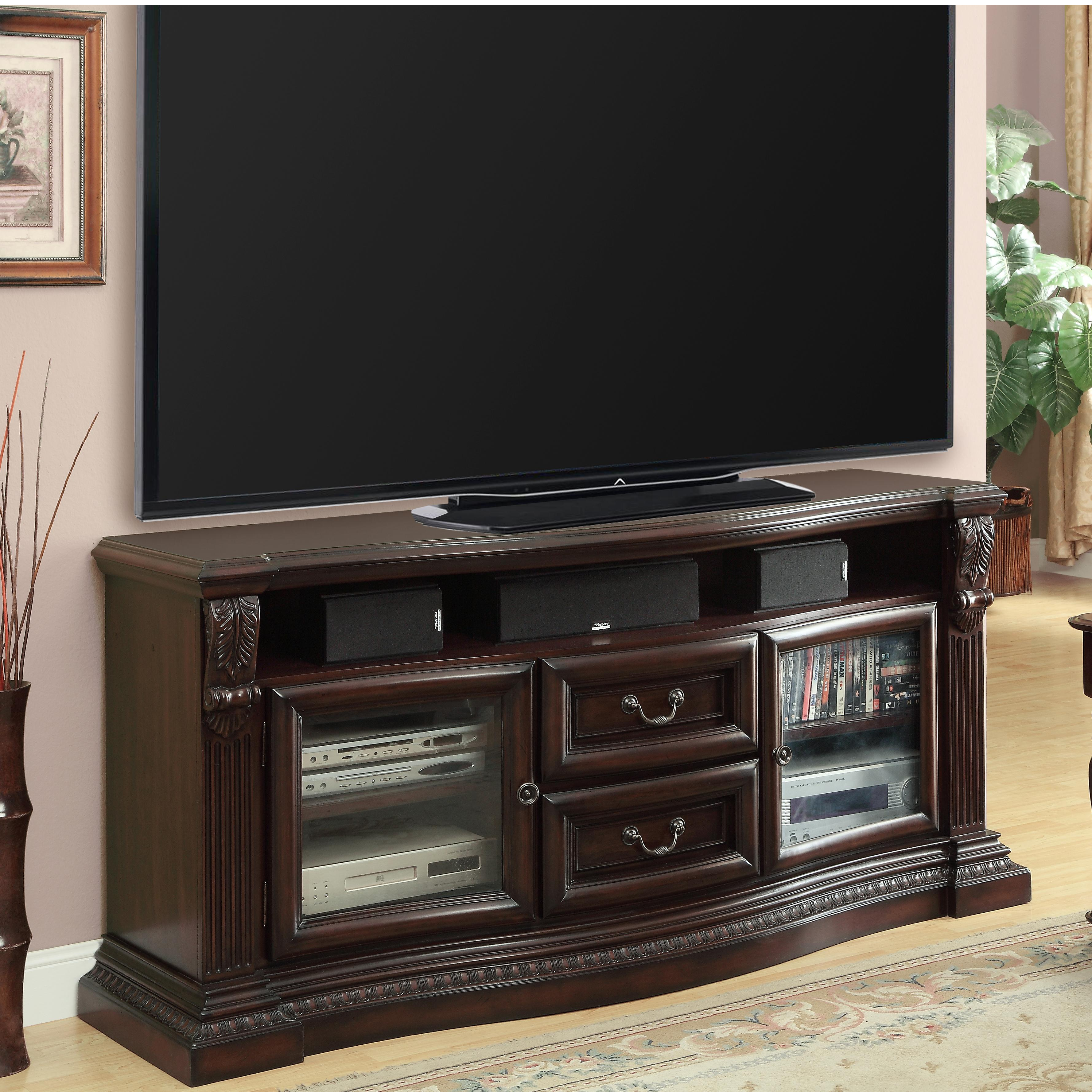 Bella Collection TV Console by Parker House at Pilgrim Furniture City