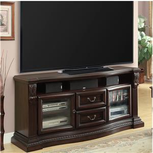 TV Console with 2 Drawers and 2 Doors