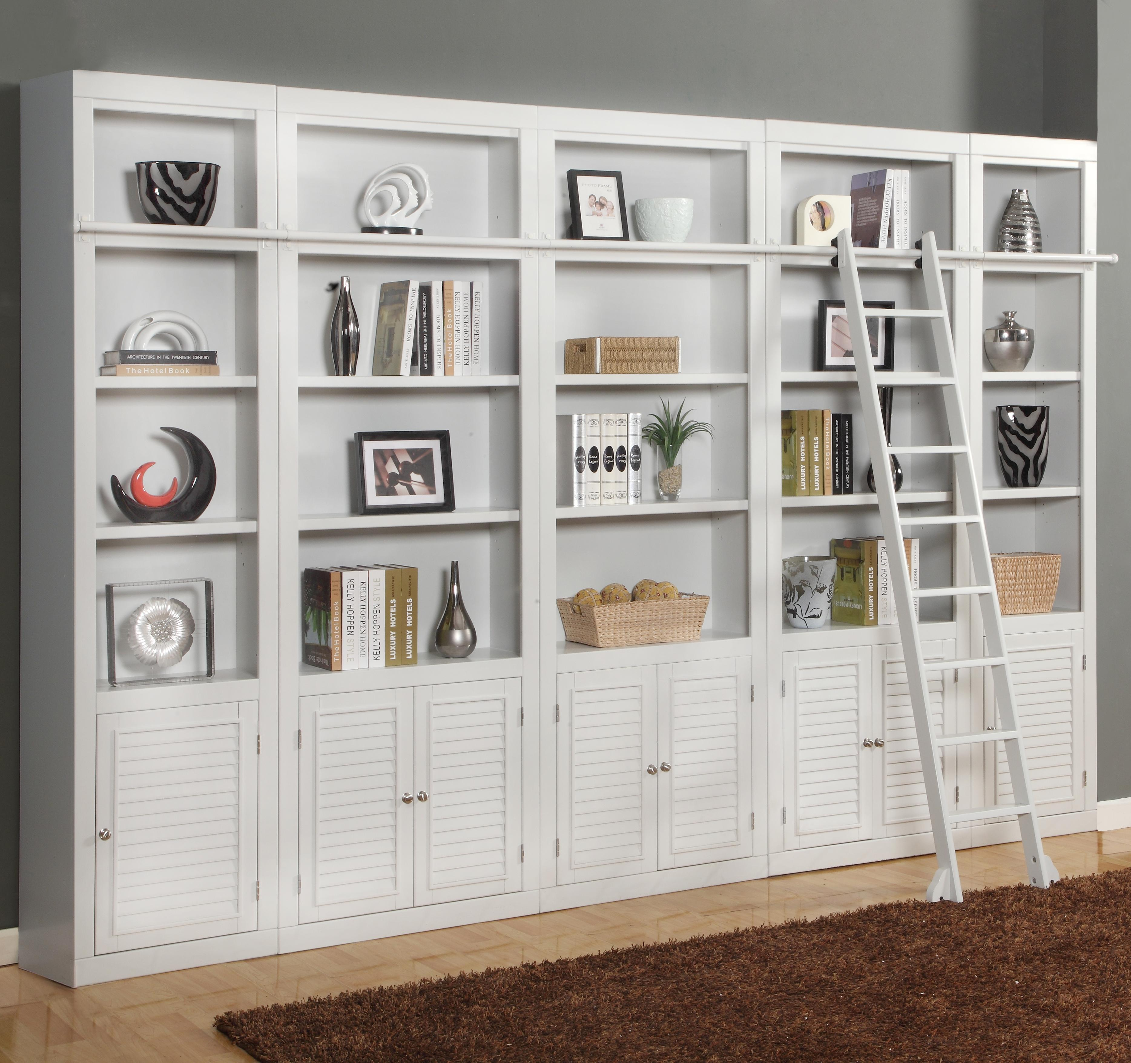 Boca Expanded Library Wall Unit by Parker House at Zak's Home