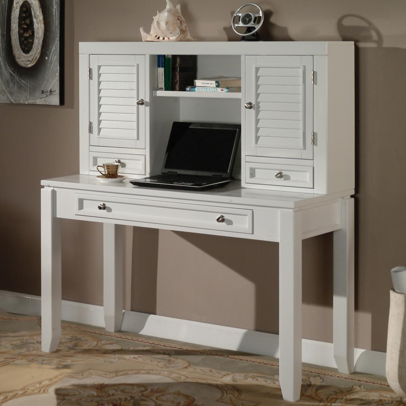 """Boca 47"""" Writing Desk and Hutch by Parker House at Johnny Janosik"""